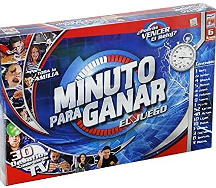 Un Minuto Para Ganar Board Game (Spanish Edition) by Fotorama
