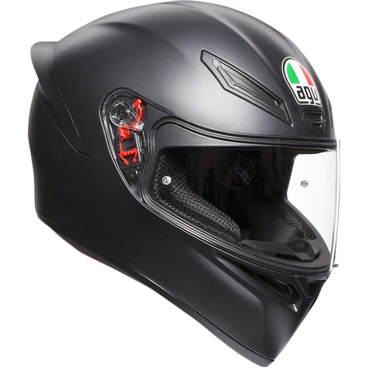 Amazon.com: AGV K1 Mono - Casco de motocicleta, color negro ...