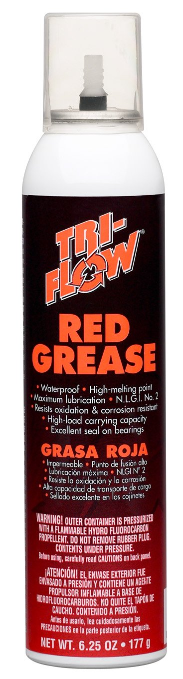 Amazon.com: Tri-Flow TFCC20029 Red Grease/Pin Point Lubricator Combo (Blister Card Pack): Automotive