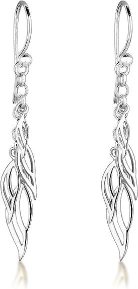 Elli Femme  Boucles doreilles pendantes