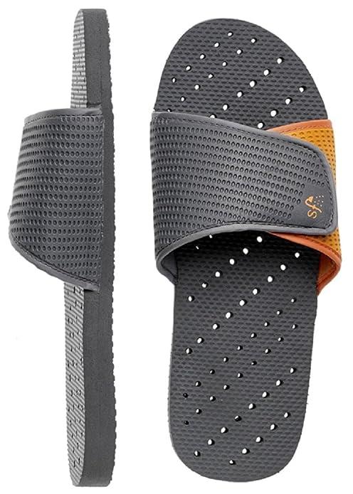Showaflops Men's Foam Antimicrobial Shower & Water Sandals: Amazon.co.uk: Shoes  & Bags