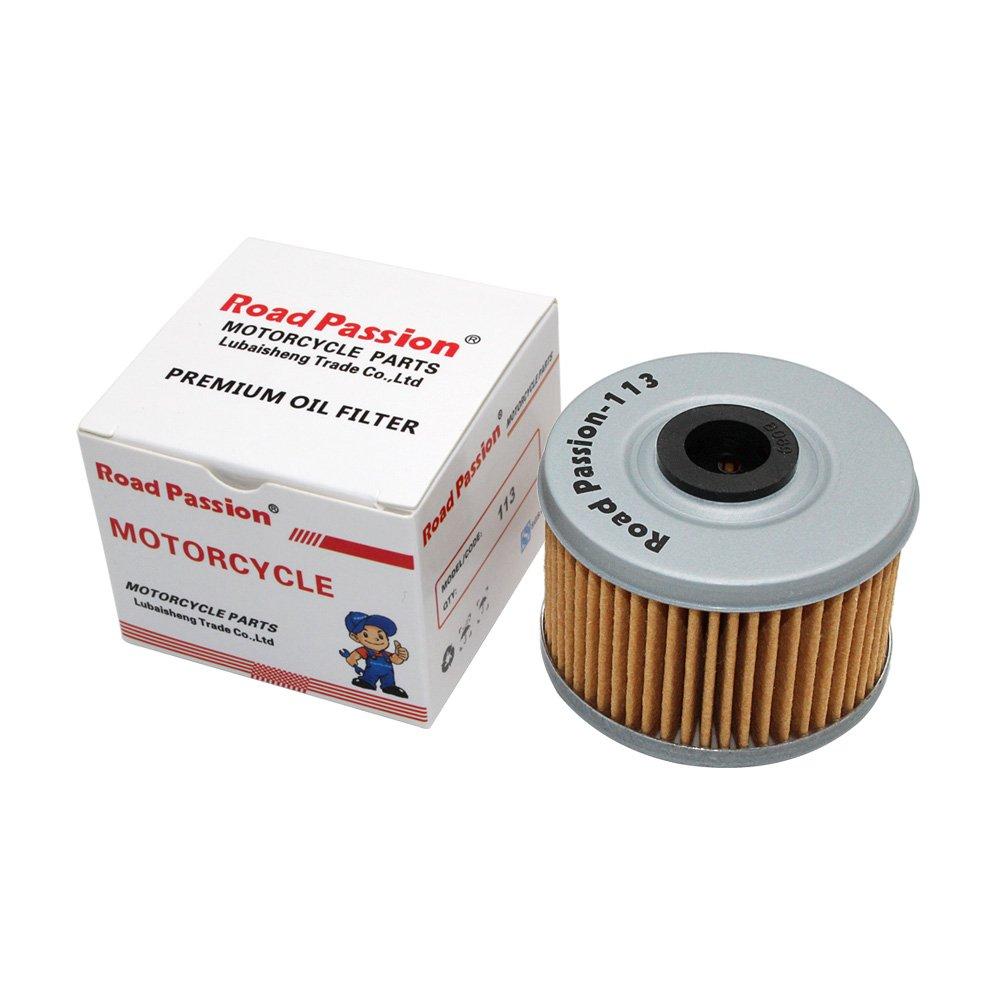 Road Passion Filtro de aceite para HONDA VT125 C SHADOW 121 2005-2008 VT125C SHADOW 125 1999-2004
