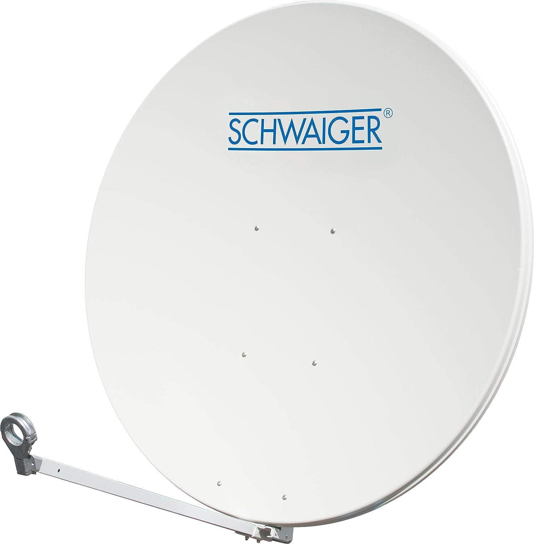 Schwaiger Spi1250 0 Aluminium Sat Spiegel Durchmesser 125 Cm Heimkino Tv Video