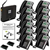 XBLUE X50XL VoIP System (X50XL12) w/(12) X3030 IP Phones, Auto Attendant, Voicemail - 49 Phone & 18 Outside Line Capacity