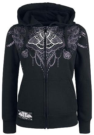 Loud À Zippé Black Premium Capuche Sweat Emp Out Freaking By Shirt D9WEH2I
