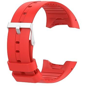 Para Polar M430 bandas, correas muñequeras de silicona reloj ...