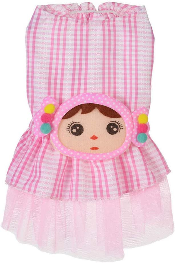 Pet Clothes Spring and Summer Cute Spinning Skirt Little Girl ...