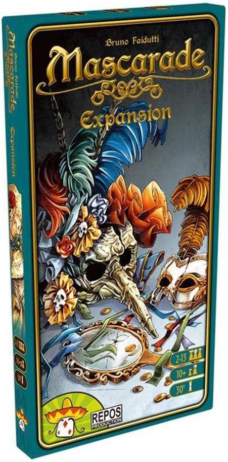 Repos Production- Mascarade: la expansión - español. (Asmodee): Amazon.es: Juguetes y juegos