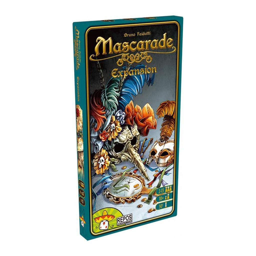 Repos Production- Mascarade: la expansión - español. (Asmodee ...