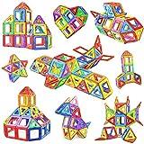 Jasonwell 68 Pcs Magnetic Tiles Building Blocks Set for Boys Girls Preschool Educational Construction Kit Magnet Stacking Toys for Kids Toddlers Children Age 3 4 5 6 7 8 Year Old ...
