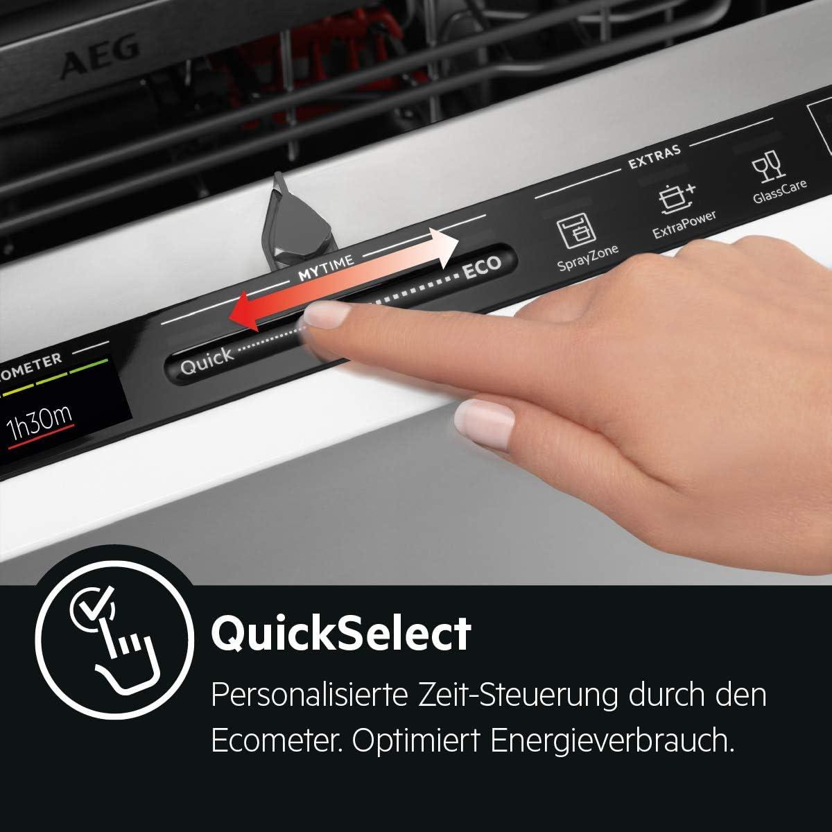 AEG FSB53907Z - Lavavajillas integrado (60 cm, secado perfecto ...