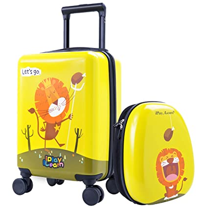 Amazon.com: iPlay, iLearn - Juego de equipaje para niños con ...