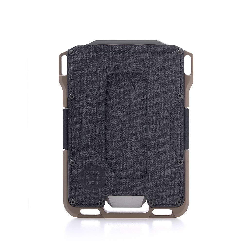 Dango M1 Maverick Spec-Ops Wallet - Black DTEX/Desert Sand - Made in USA