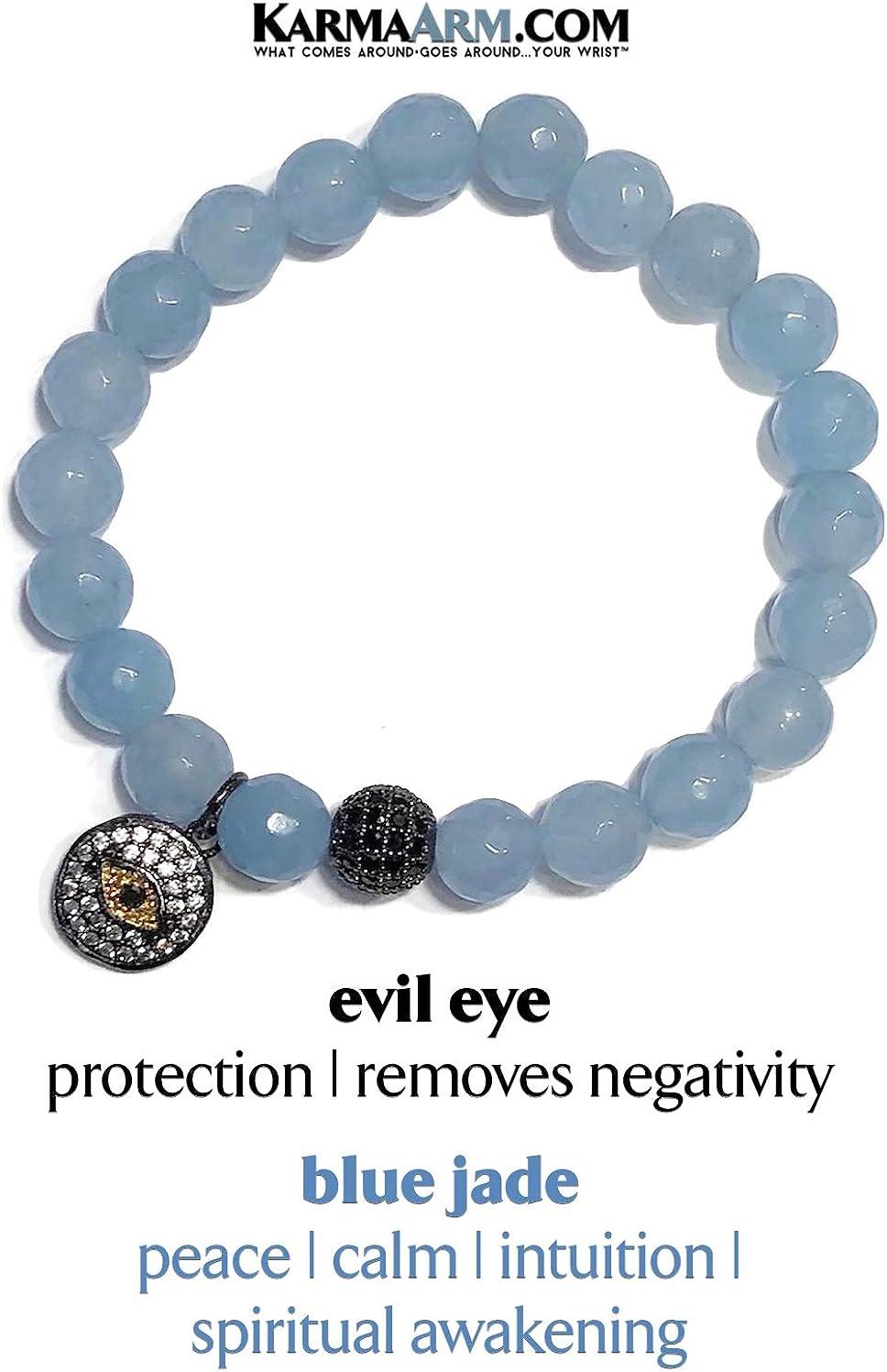 Dream Lover Blue Goldstone Reiki Healing KarmaArm Stretch Bracelets Yoga Chakra Love Bracelets Meditation Boho Jewelry