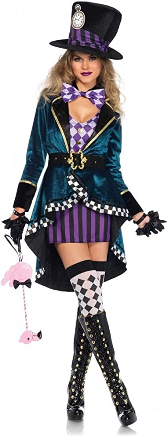 shoperama Delightful Hatter Leg Avenue – Disfraz de Mujer – Hatter ...
