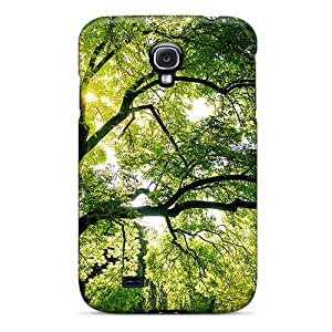 Jeffrehing Premium Protective Hard Case For Galaxy S4- Nice Design - Tree Of Life