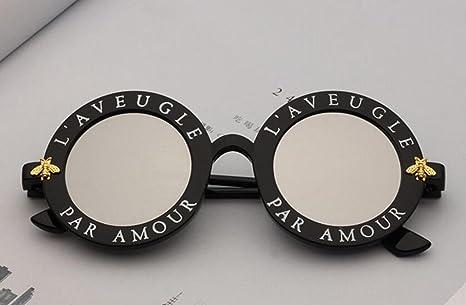 RDJM Gafas de Sol para Mujer, Estilo Europeo y Americano ...