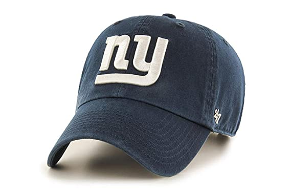 47 Brand Clean Up New York Giants Navy Adjustable Cap Os