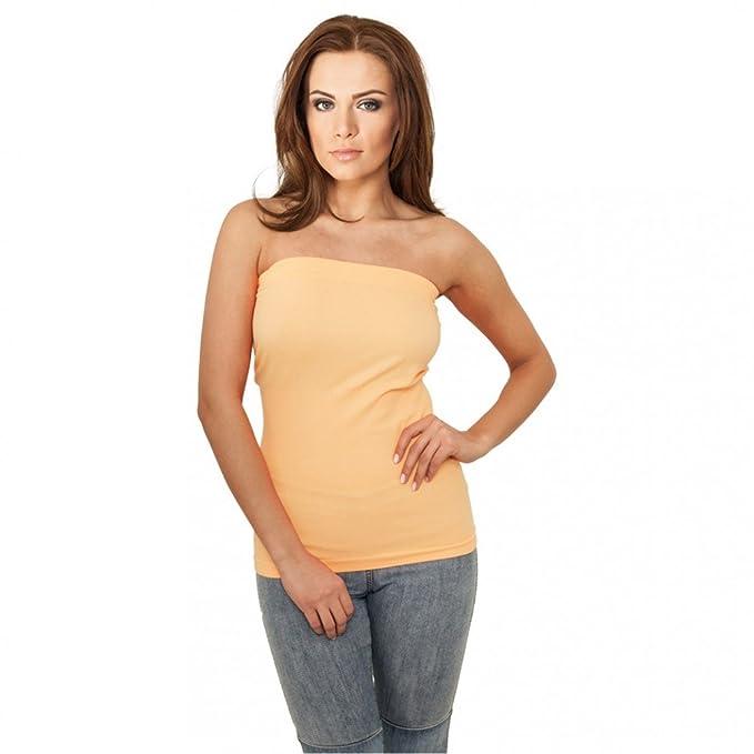 Urban Classics Ladies Neon Strapless Top, Sujetador Bandeau para Mujer: Amazon.es: Ropa y accesorios