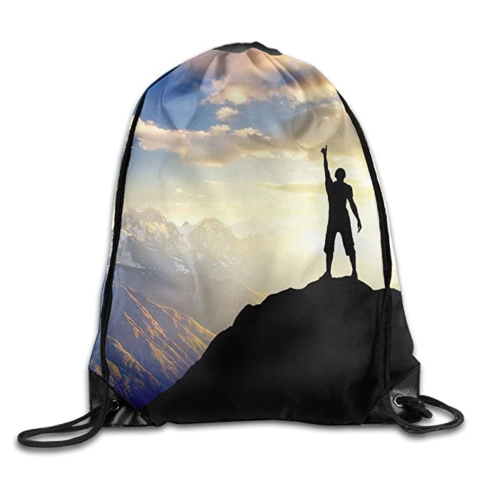 2ce39930b15d Image Unavailable. Image not available for. Color  Jimres Challenge Outdoor Extreme  Sports Drawstring Bags Portable Backpack ...