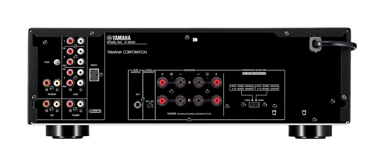 Yamaha AS-500 - Amplificador estéreo de 85 W, Negro: Amazon.es ...
