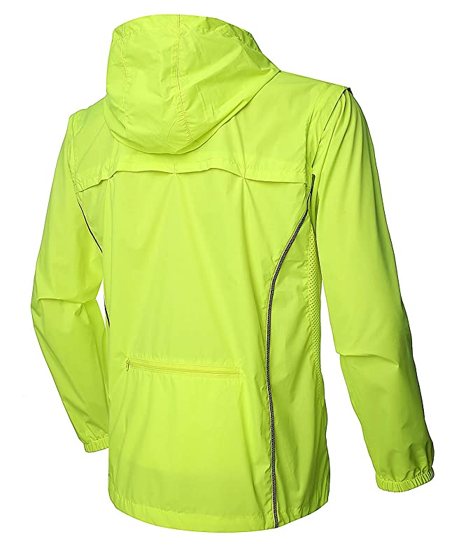 Amazon.com: Outto - Chaqueta de ciclismo convertible de alta ...