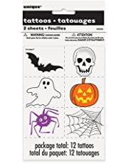Halloween Tattoos, 12ct