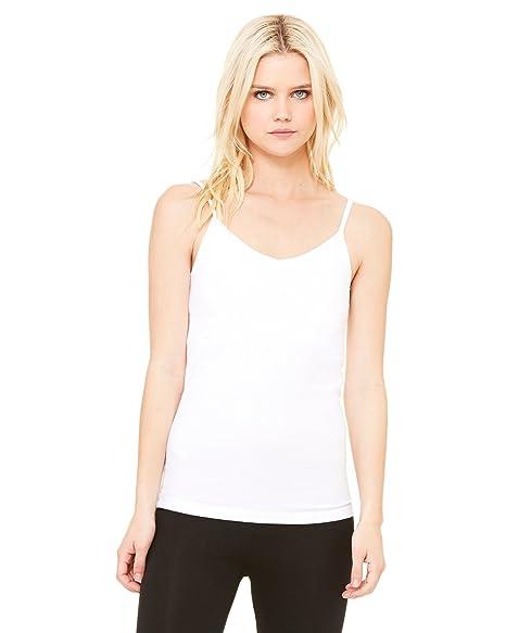ee8b7f90ae Bella + Canvas Ladies Cotton Spandex Shelf Bra Tank at Amazon Women s  Clothing store