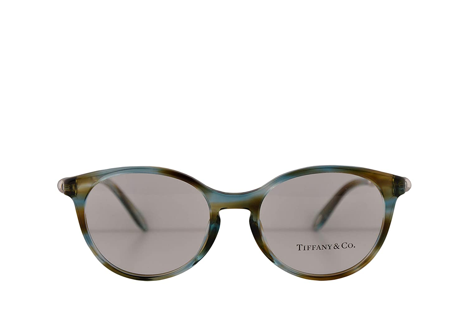 cd8b3be60d1 Amazon.com  Tiffany   Co. TF2159 Eyeglasses 49-18-140 Ocean Turquoise  w Demo Clear Lens 8124 TF 2159  Clothing
