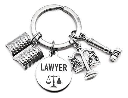 Amazon.com : Lawyer Keychain, Lawyer Attorney Keychain ...