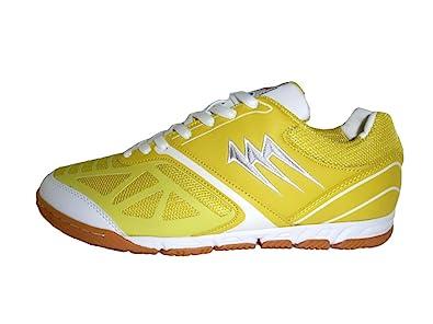 AGLA - Zapatillas de fútbol sala de Material Sintético para hombre negro Size: 40 aXU3SKNze
