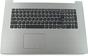Genuine Parts for Lenovo ideapad 330-17IKB 330-17AST 17.3 inch Palmrest US Keyboard PG-Silver 5CB0R20167(Not for 330-17ICH)