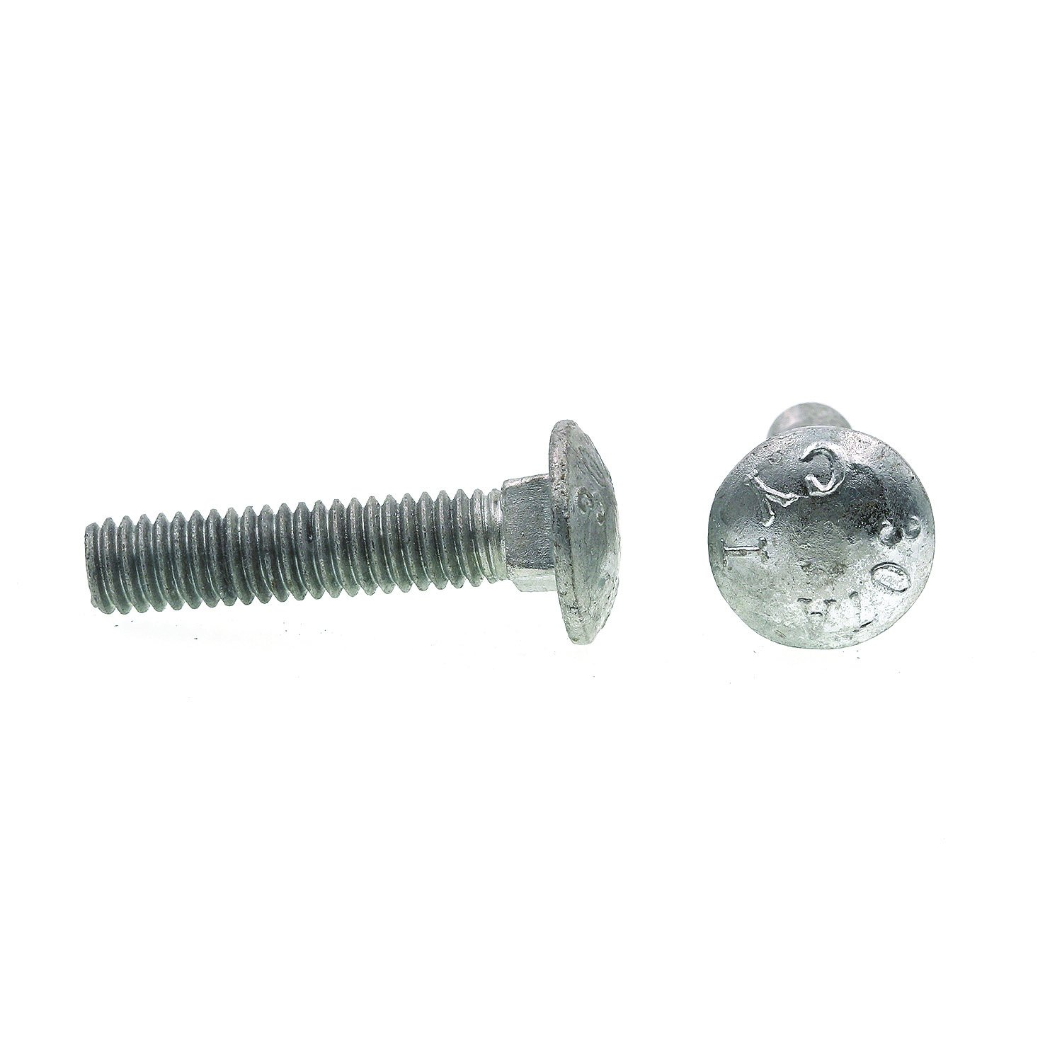 100-Pack A307 Grade A Hot Dip Galvanized Steel Prime-Line 9062927 Carriage Bolts 5//16 in.-18 X 1-1//2 in.