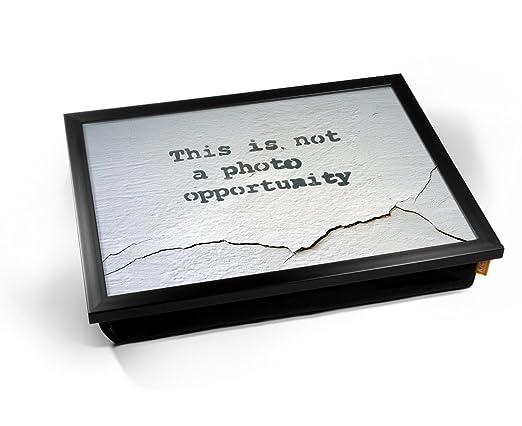KICO Banksy Banksy Banksy - Bandeja de cojín, diseño de ...