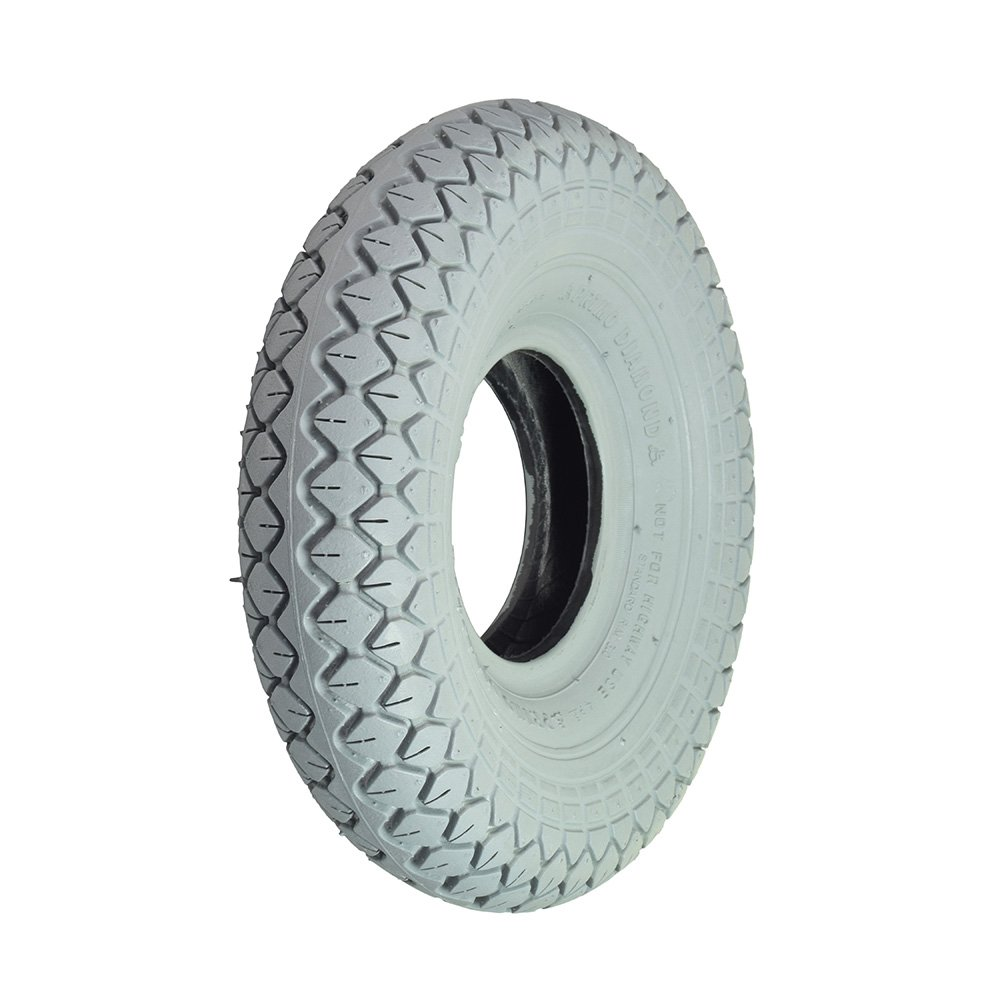 Monster Motion 4.00-5 Pneumatic Mobility Tire with Diamond Knobby Tread