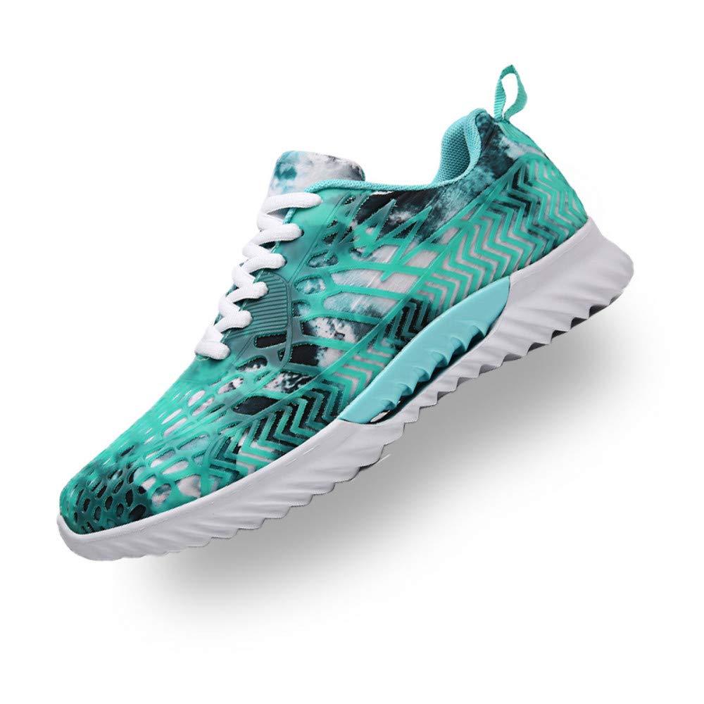 Hasag Chaussures de Sport Nouveau Chaussures Homme Casual Chaussures Chaussures Homme Camouflage Mesh Couples Chaussures Chaussures Femme 45|Water blue 5100b9