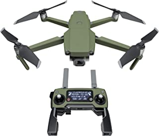 product image for Solid State Olive Drab Decal Kit for DJI Mavic 2/Zoom Drone - Includes 1 x Drone/Battery Skin + Controller Skin