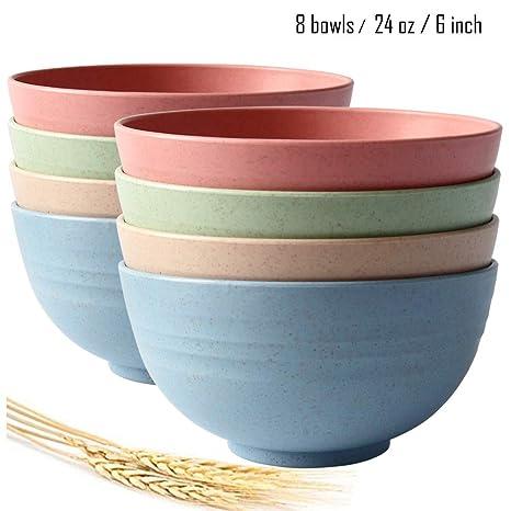 Amazon.com: Greenandlife - Cuencos de cereales grandes ...