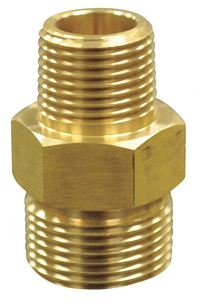 Quick Coupling Plug, 3/8 (M) x 22mm - pack of 5