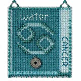 #9: Cancer Beaded Cross Stitch Kit Mill Hill 2018 Zodiac Charmed Ornaments MH161814
