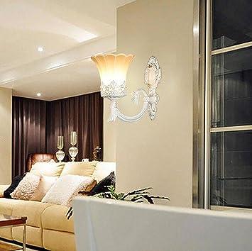 JIAJU Moderne Studie Wandleuchte Wärme Wohnzimmer Schlafzimmer Nacht  Kreative Korridor Beleuchtung Zubehör, Single Head