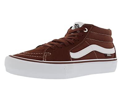 180c2be61da Vans Men s Sk8-Mid Pro Ankle-High Leather Skateboarding Shoe