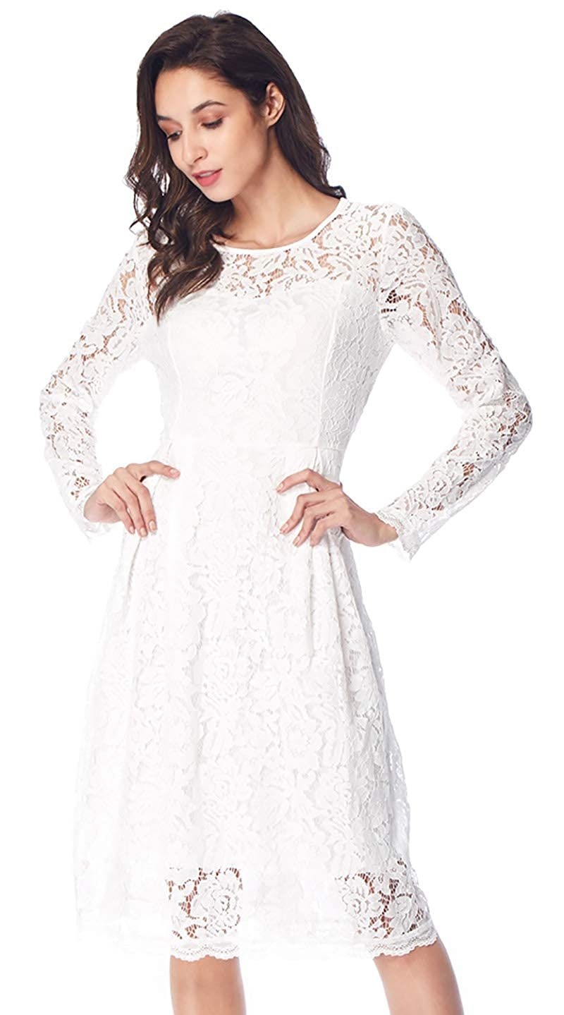 162c21cc00b Fabric  The white and blue lace dress are made of 100% lace in high  quality