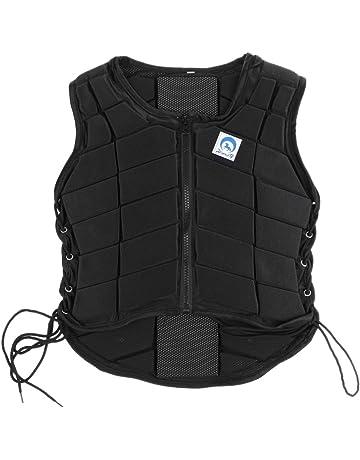 3da43a0e41 Gazechimp Equitation Gilet de Sécurité Protège-Corps Equipements de  Protection Chevauchée pour Enfant/Adulte