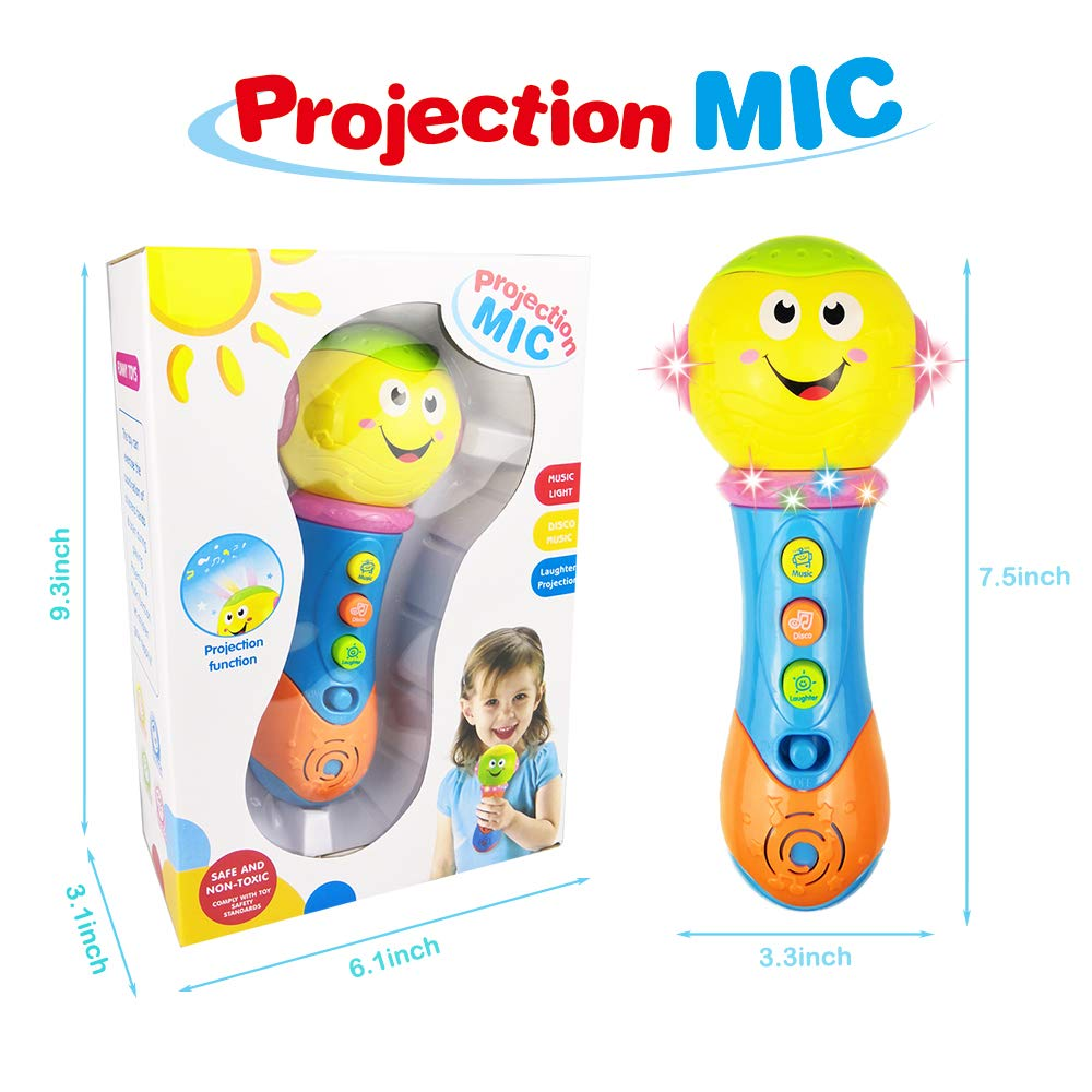 Toy for 6-12 Month Baby Toddler, Toy Microphone for 9-18 Month Girl Boy Toys Gift for 1-3 Year Old Babies Girl Music Toy for 12-24 Month Toddler Boys Birthday Gift Toy Age 1 2 3 by Jeacy (Image #2)