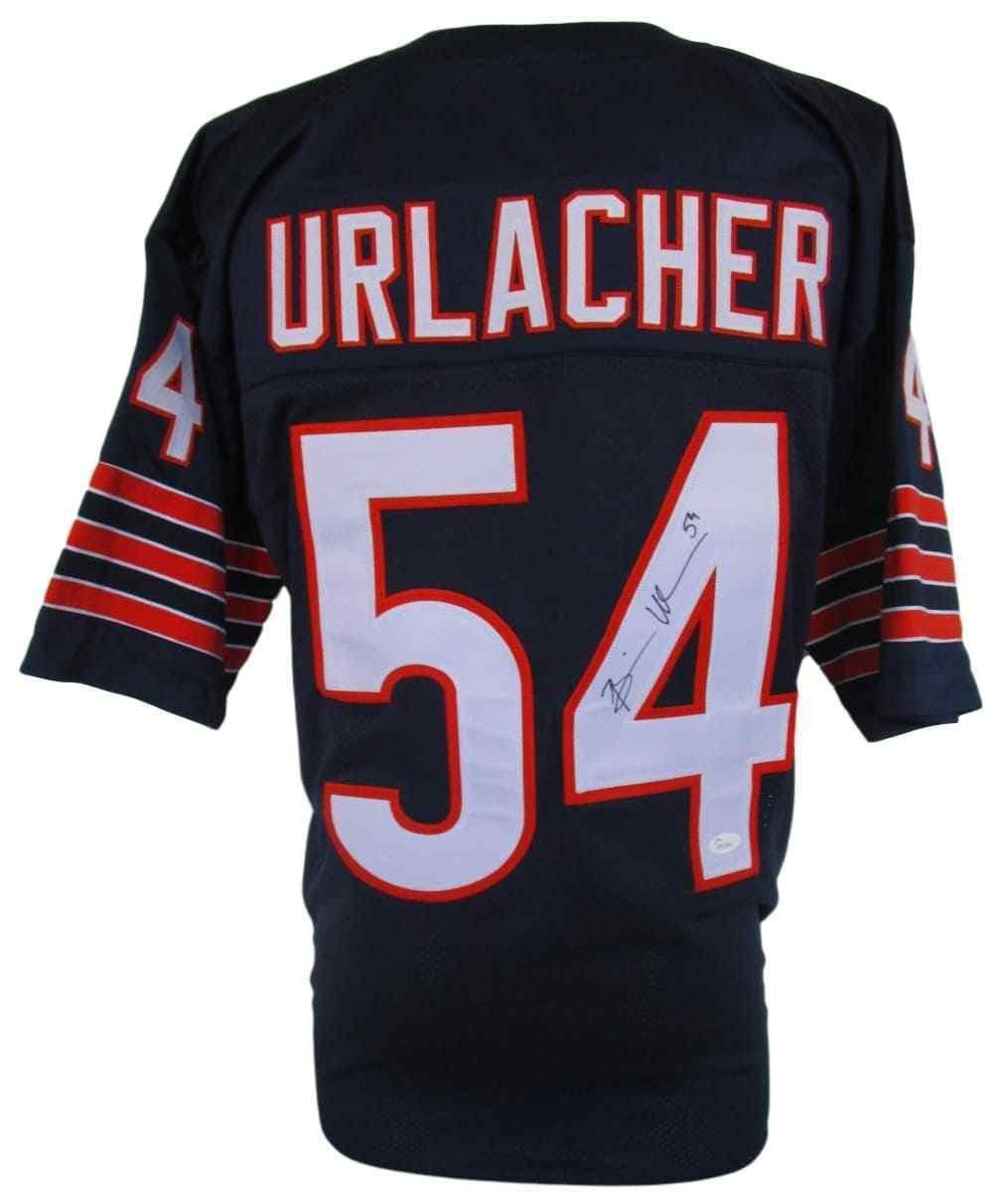 c6ddeb26b11 Amazon.com: Brian Urlacher Signed Jersey - Custom Navy Pro Style - JSA  Certified - Autographed NFL Jerseys: Sports Collectibles
