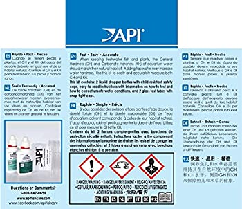 Api Gh & Kh Test Kit Freshwater Aquarium Water Test Kit 2