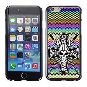 Dragon Case - FOR iPhone 6 - Look before you leap - Caja protectora de pl??stico duro de la cubierta Dise?¡Ào Slim Fit