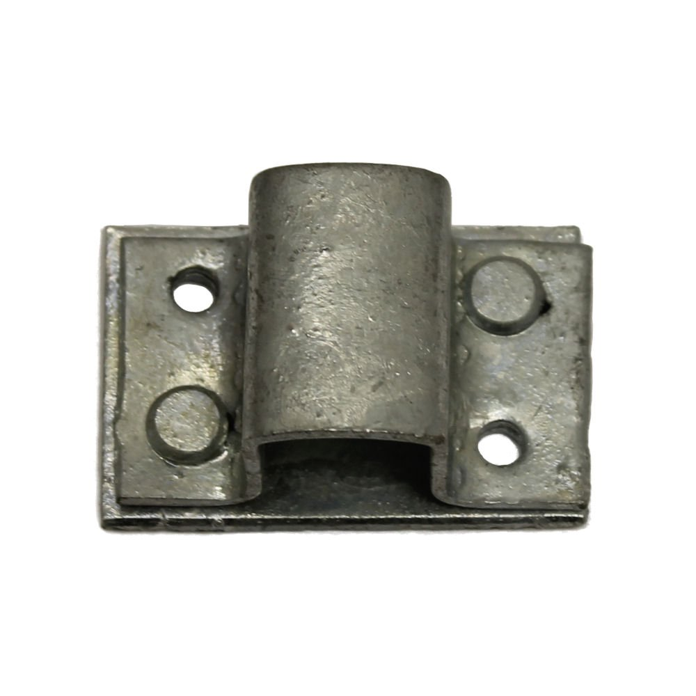 16mm Receiver Staple to suit Square Bolts - Galvanised Ironmongery Online