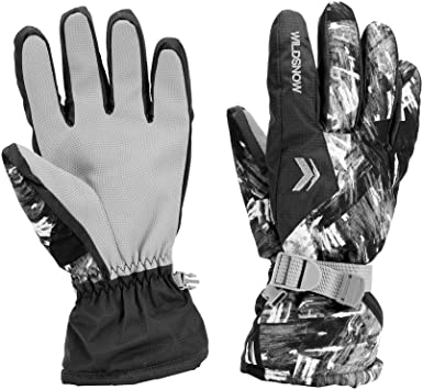LAMA Ski Gloves Unisex Winter Warm Thermal Gloves Waterproof Snowboarding Gloves for Skiing Snowboarding Cycling Running Climbing Hiking Winter Outdoor Sports Uber Eats